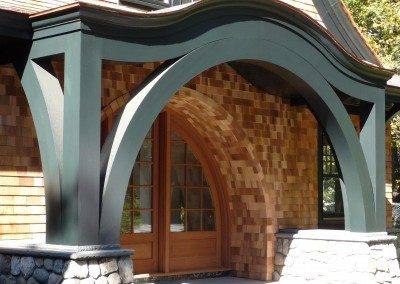Custom Arched Entry System