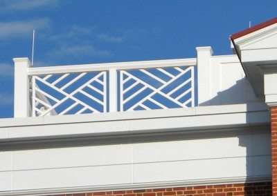 Rooftop Taconic Balustrade System & PVC Cornices
