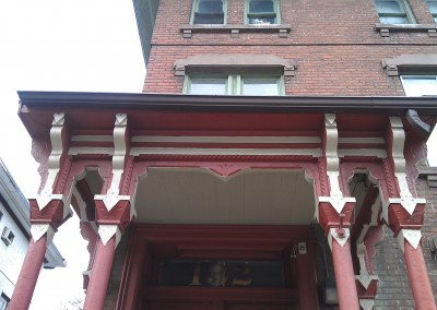 Front Entry Porch Posts