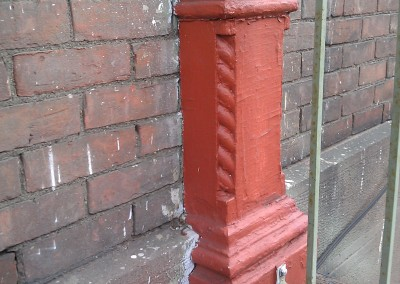 Pilaster Detail - Before