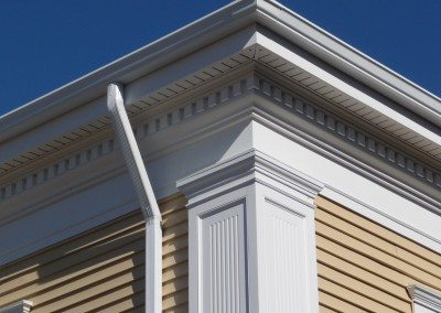 Fluted Recessed Panel PVC Pilaster