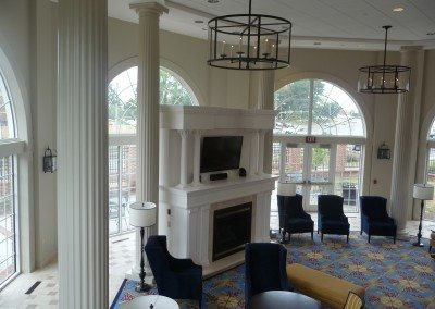 Fluted Fiberglass Interior Columns