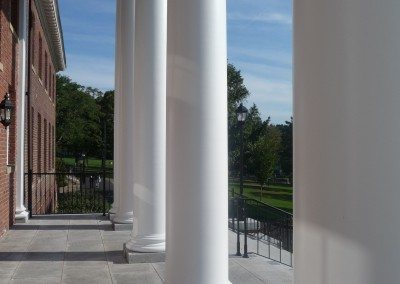 Smooth Round Fiberglass Columns