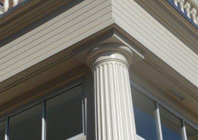 Fluted Fiberglass Pilaster