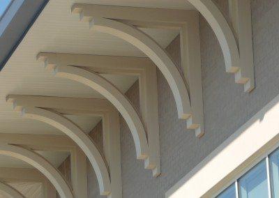PVC Arched Brackets