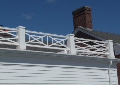 Taconic Rooftop Railing System
