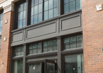 PVC Storefront Trim