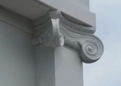 PVC Pilaster with Custom Capital