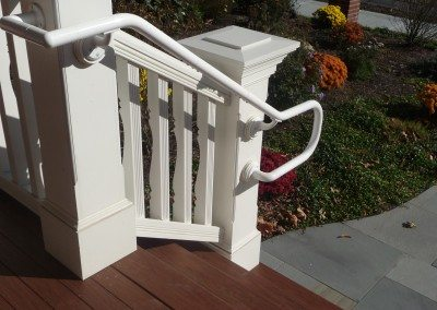 PVC Columns & Stair Rail