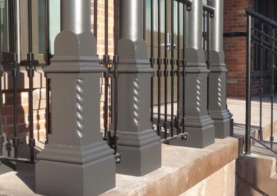 Porch Post Pedestals