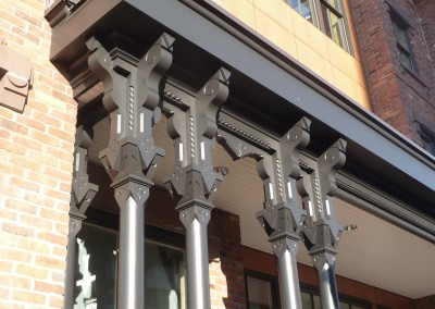 PVC Porch Posts