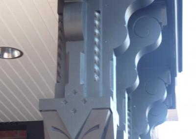 Porch Post & Bracket Detail
