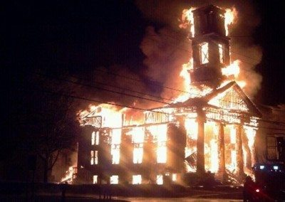 Somers Church Fire