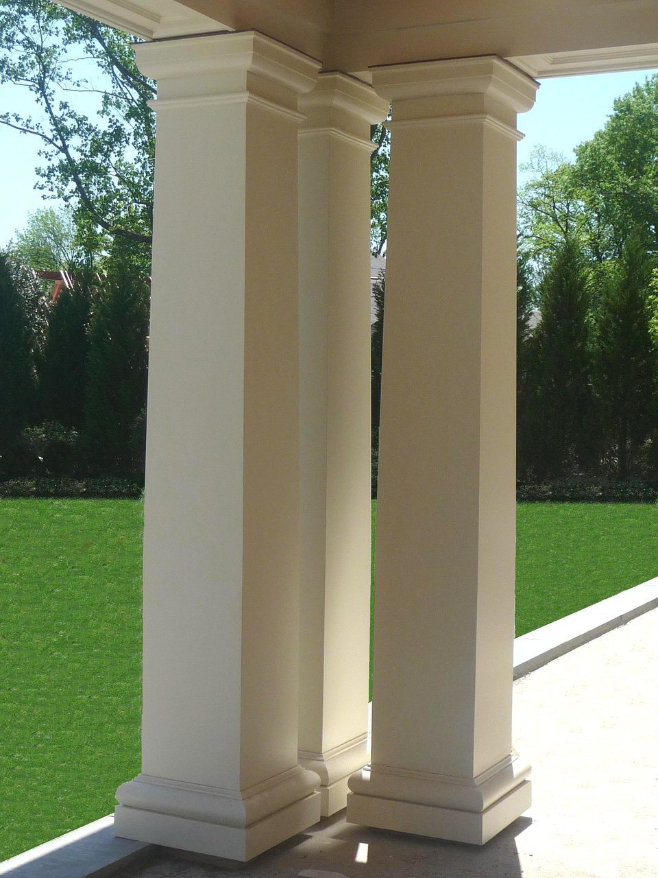 Prostyle pvc columns brought to you by cheyenne company for Tapered columns