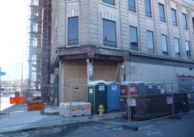 Building Prior to Restoration