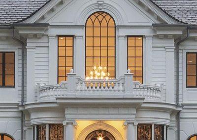 Front Entry Columns & Balustrades