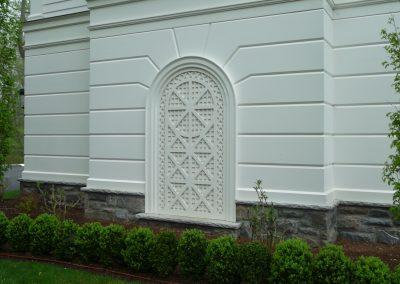 PVC Lattices & Rustication Panels